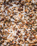 Střední sladká bezlepková granola plná ořechů (120g)