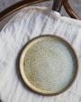 Keramický talíř béžový
