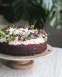 Velmi čokoládový dort s višněmi a krémem z mascarpone (objednávka min. 48 hod. dopředu)