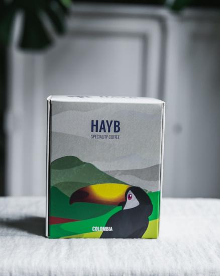 HAYB speciality coffee - Colombia La Esperanza Cardenas Geisha 250 g