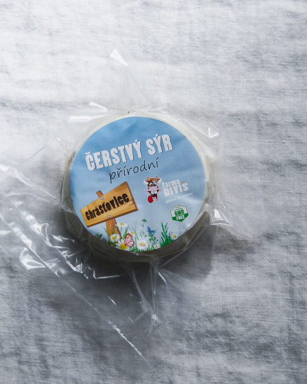 Čerstvý přírodní sýr 100g