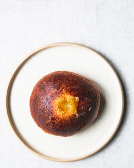 Špaldová brioška s lemon curd krémem (vyzvednutí po 11. hod)