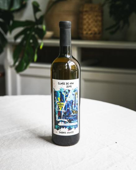 Bílé víno Cuvée de VIN - Dobrá Vinice