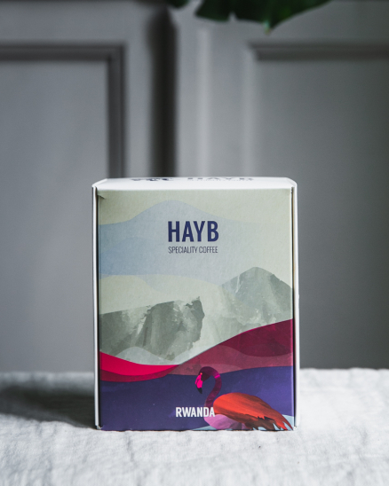 HAYB speciality coffee - Rwanda Muhondo Honey 250 g