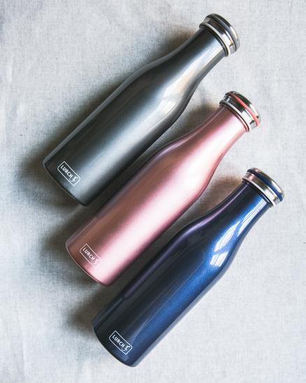 Cestovní termo láhev Lurch  (růžová) 500 ml