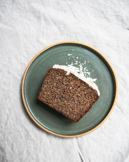Zdravý makový chlebíček - bez lepku, bez laktózy,  lehce oslazen ovocem