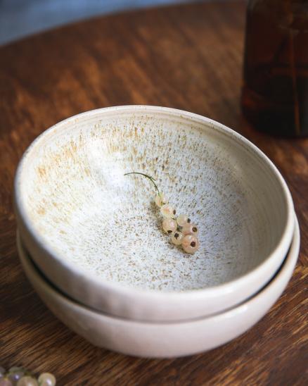 Béžová snídaňová miska (1ks)