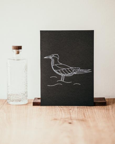 Grafika - rybák velkozobý - A4