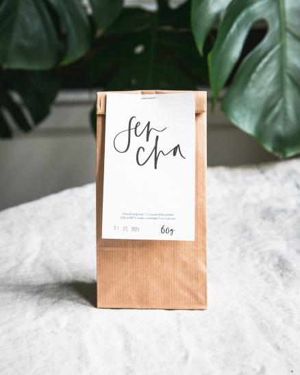 Organický sypaný čaj - Sencha 60 g