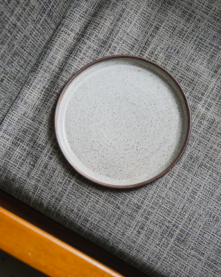 Keramický talíř dezertní