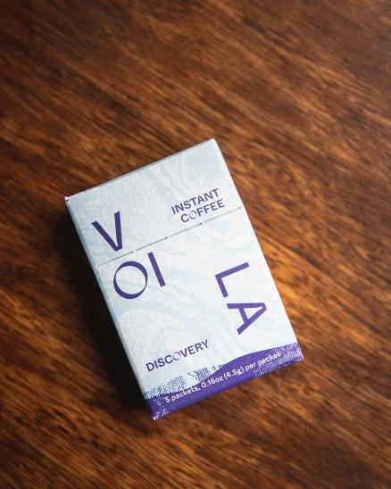 Cestovní káva - instantní výběrovka Voila