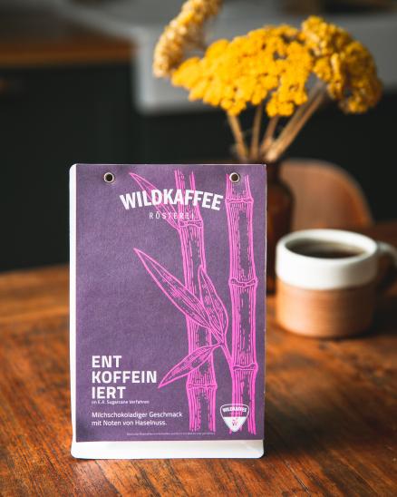 Wildkaffee - bezkofeinová káva 250g