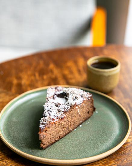 Zdravý blumový koláč - bez lepku a laktózy, lehce slazen ovocem