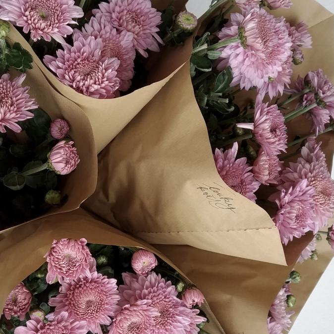 Chryzantémy z Loukykvět - svazek 4ks