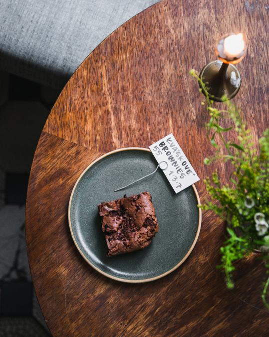 Kváskové brownies
