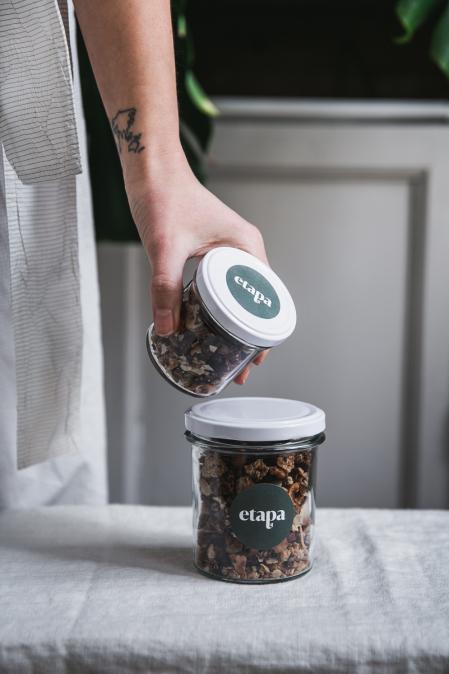 Sladká bezlepková granola plná ořechů (150 g)
