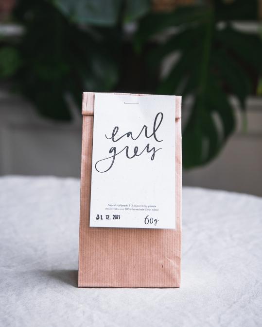 Organický sypaný čaj - Earl grey 60 g