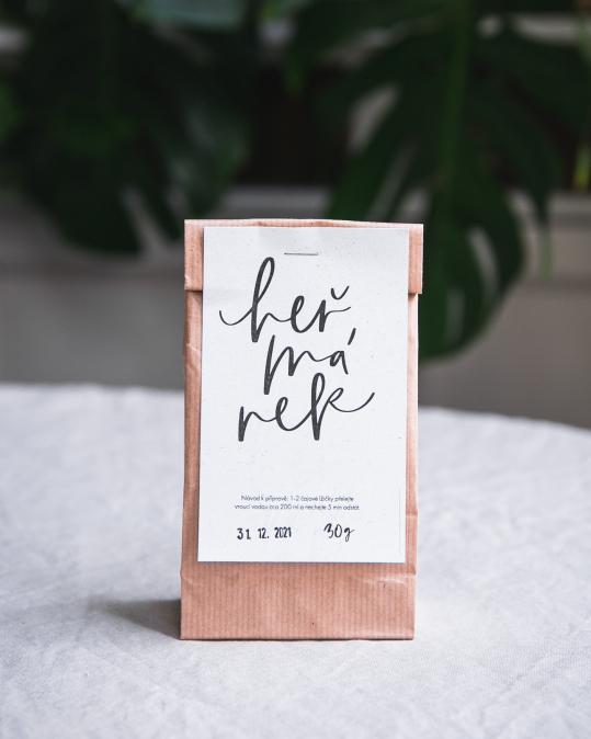 Organický sypaný čaj - heřmánek 30 g