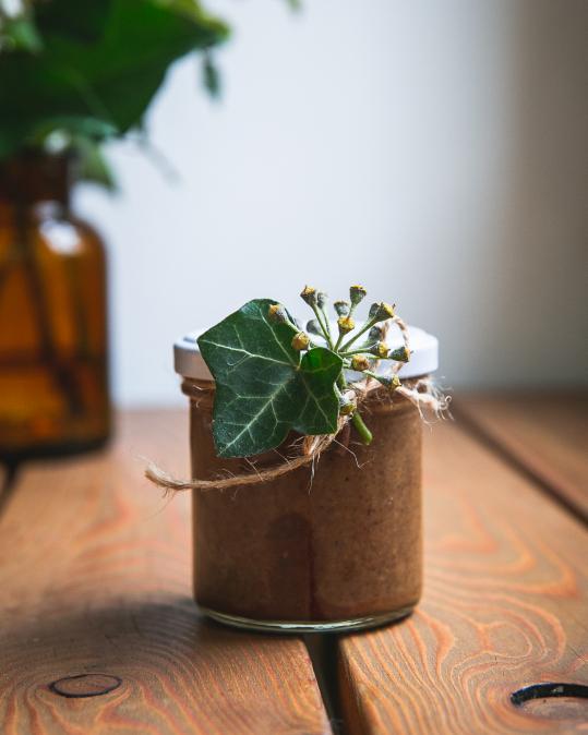 Čokoládový krém ze slunečnicových semínek s amarettem 120g