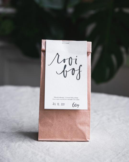 Organický sypaný čaj - rooibos 60 g