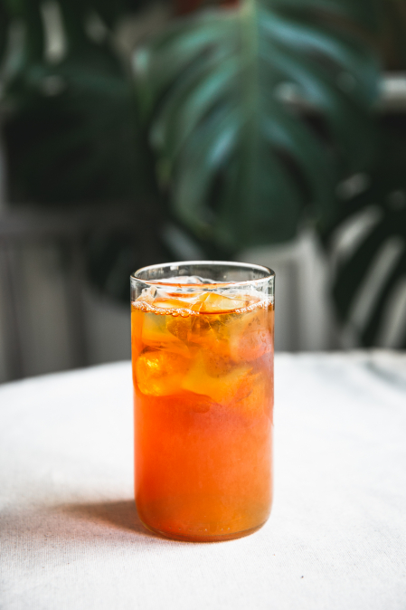 Ledový čaj rooibos 0,33 l - na doma