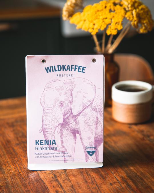 Wildkaffee - Keňa 250g